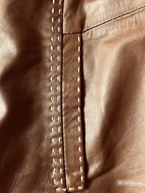 Кожаная куртка H&M,M-L