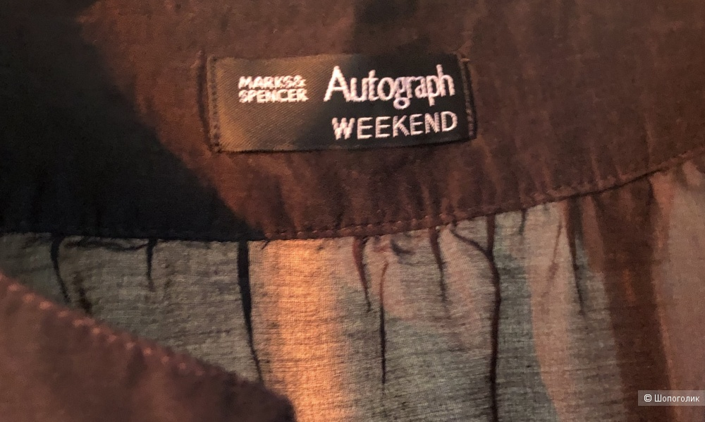 Туника Аutograph weekend Marks & Spencer размер 50