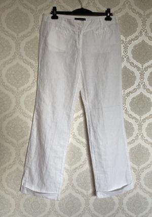 Брюки белые Luisa Cerano размер 48-50