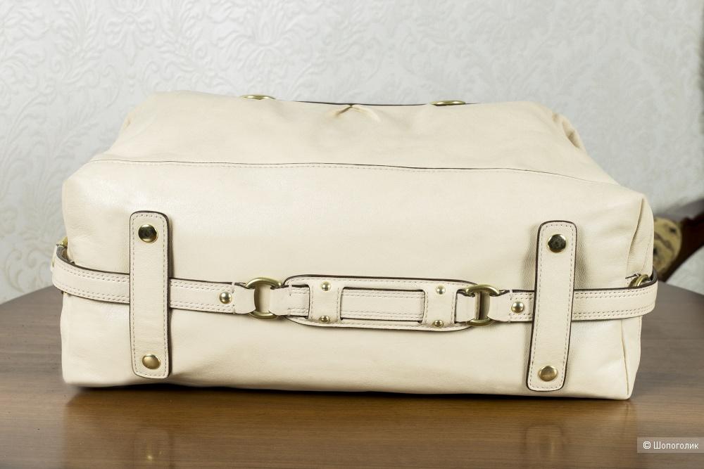 Сумка Coach женская (Ashley-тоут, ivory), medium.