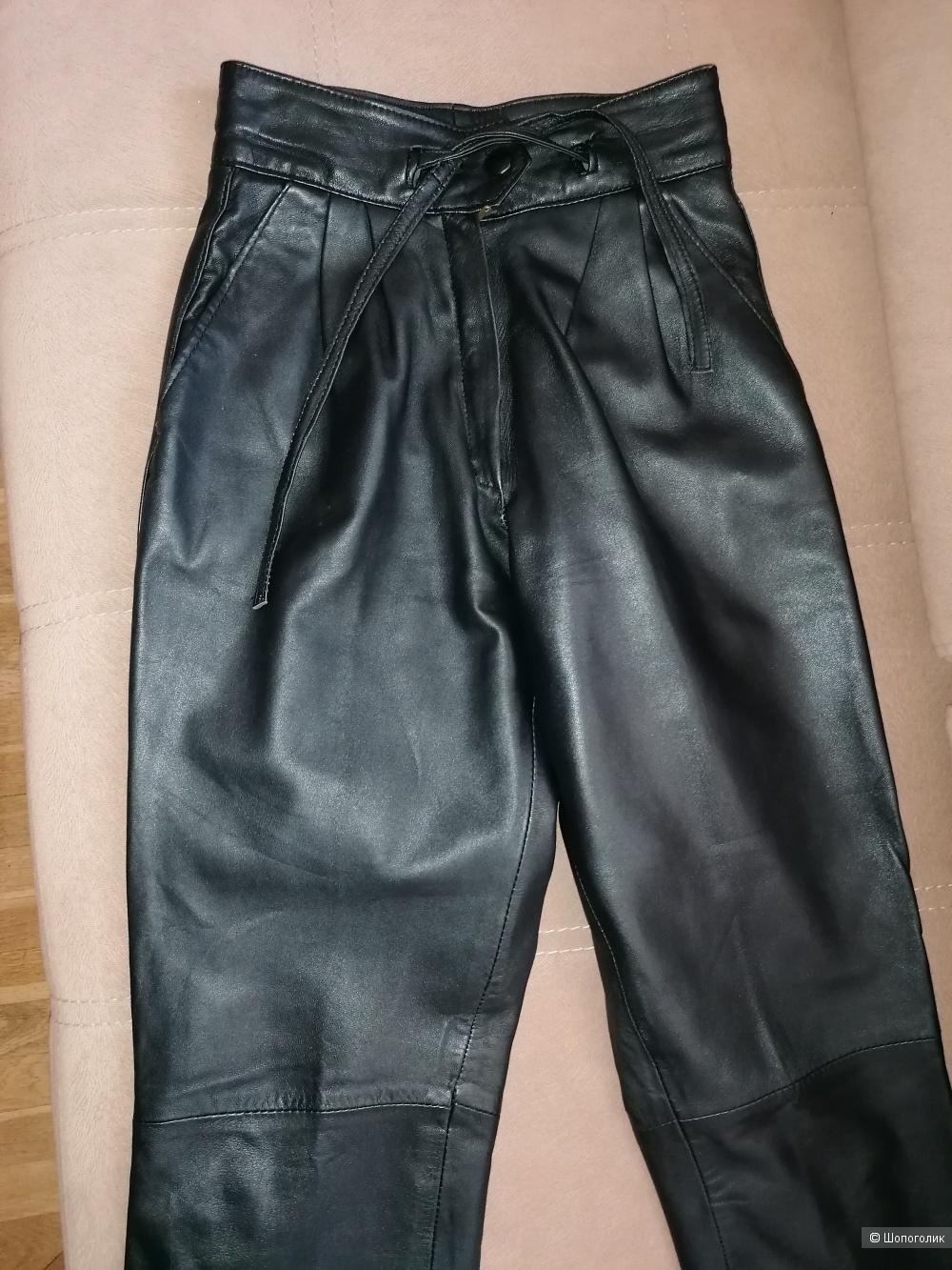 Кожаные брюки Ven Courve размер Xs