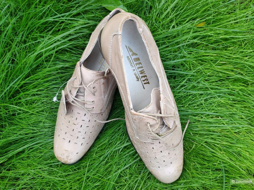 Мужские туфли Belwest размер 40-41.