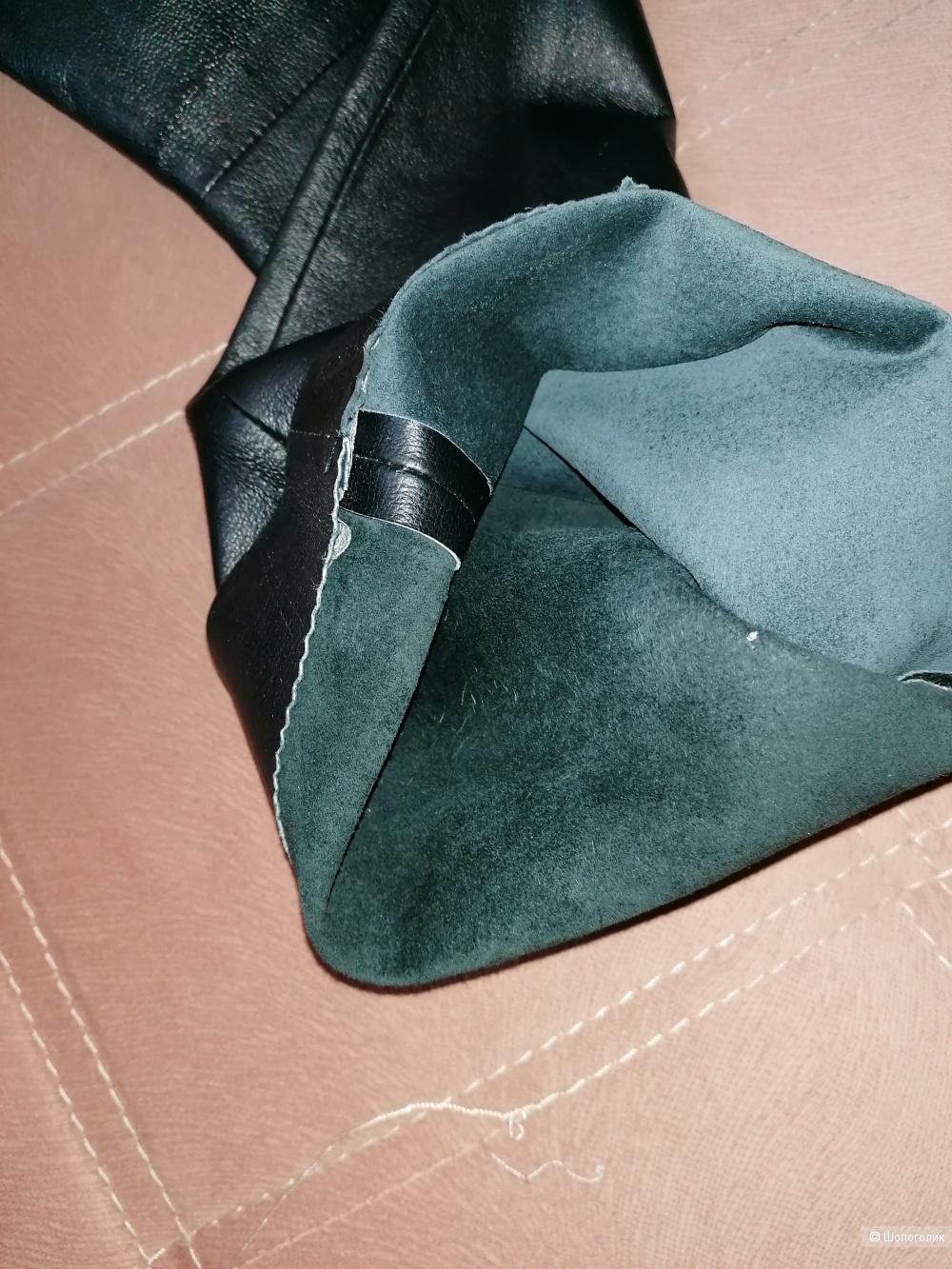 Кожаные брюки Street one 38 европейского размера