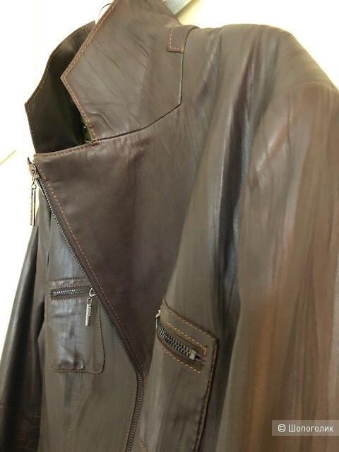 Кожаная куртка MARK ADAM NEW YORK,46D(48-50-52)