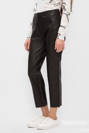 Кожаные брюки pepe jeans, размер 46
