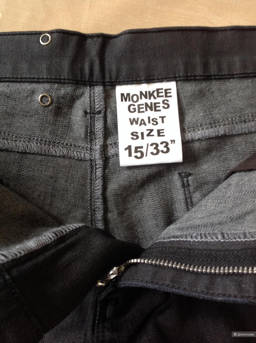 Джинсы Monkee Jenes, размер 15/33, на  48-50