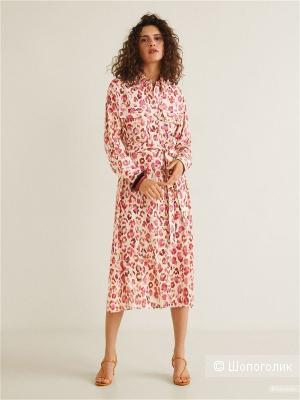 Платье- рубашка mango, размер М