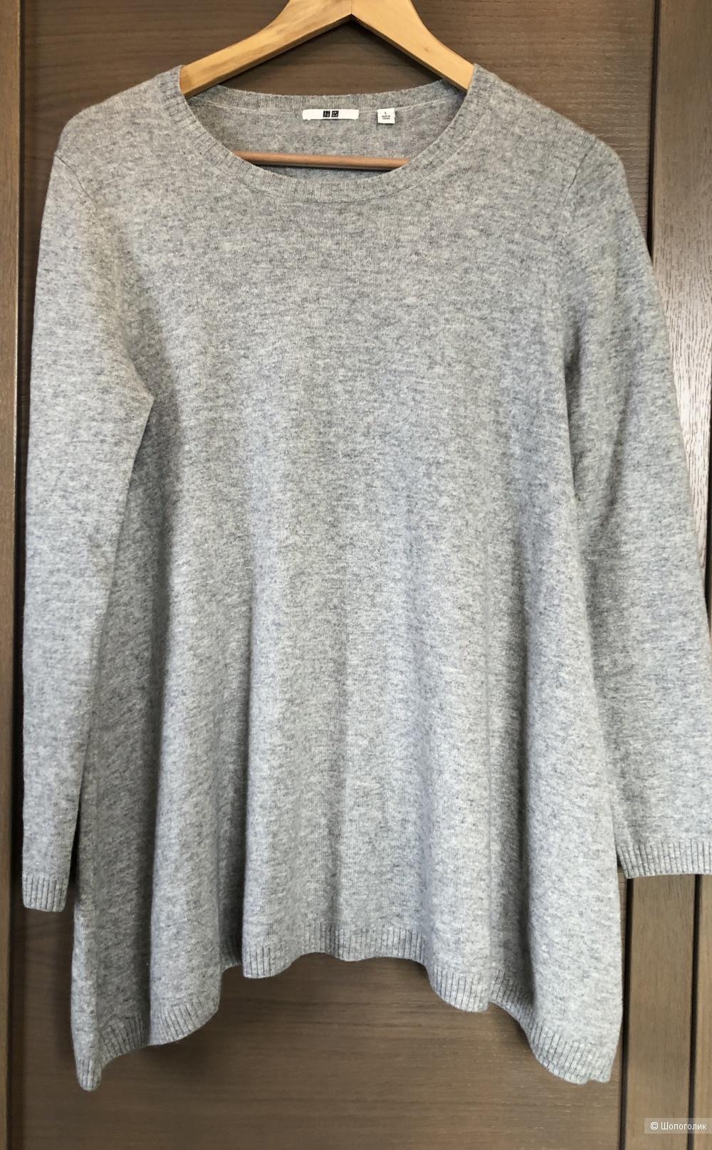 Кашемировый свитер Uniqlo размер L