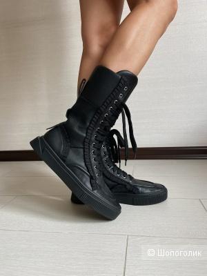 Кожаные ботинки MyGrey 40