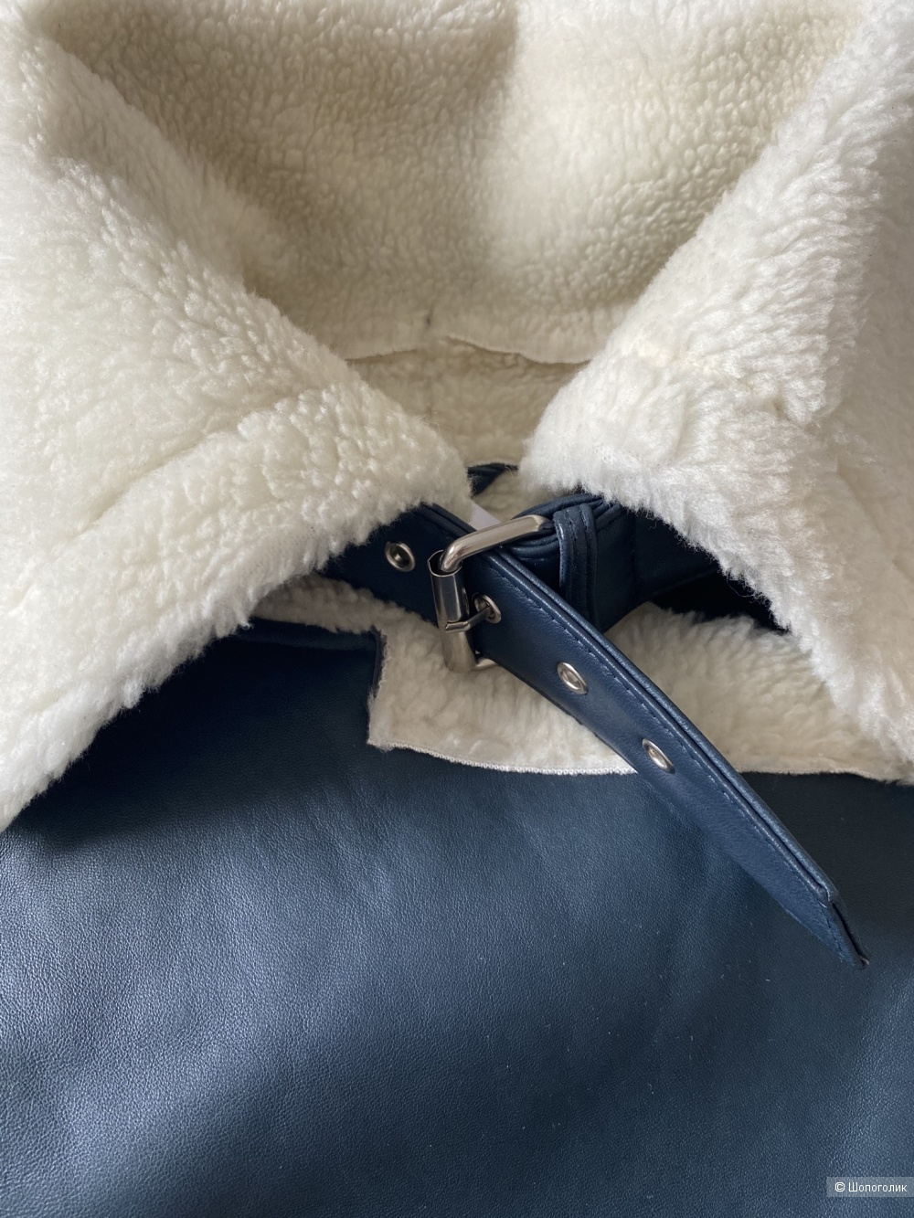 Дублёнка(куртка)-пилот от W118 BY walter baker (размер M)