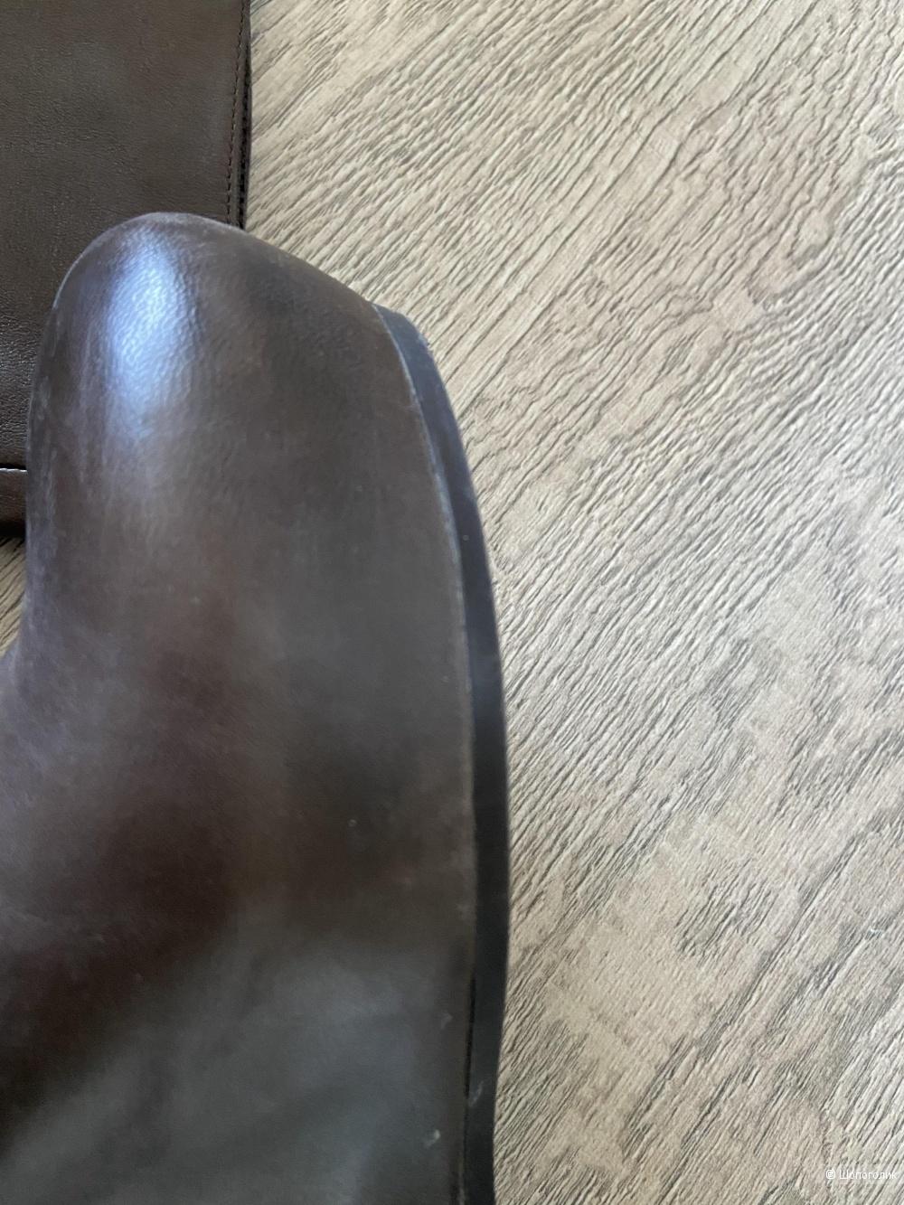 Сапоги кожаные демисезонные VIC