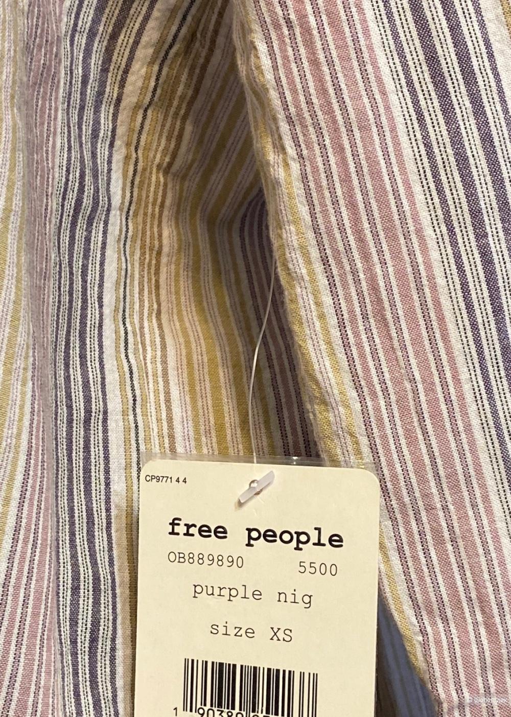 Рубашка Free People р. XS-S-M