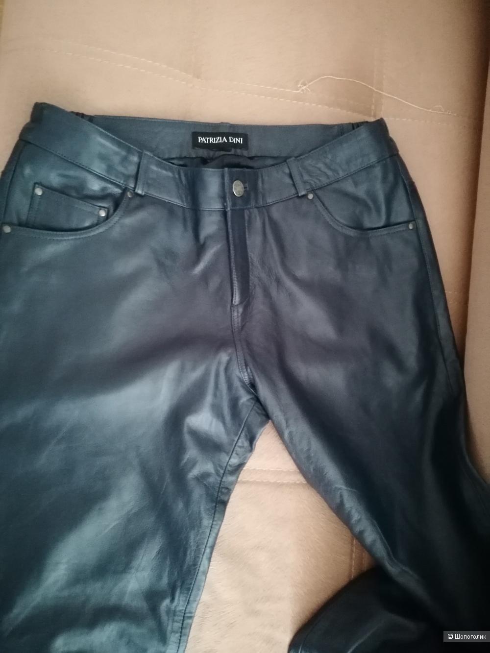 Кожаные брюки Patrizia Dini размер 42 европейский