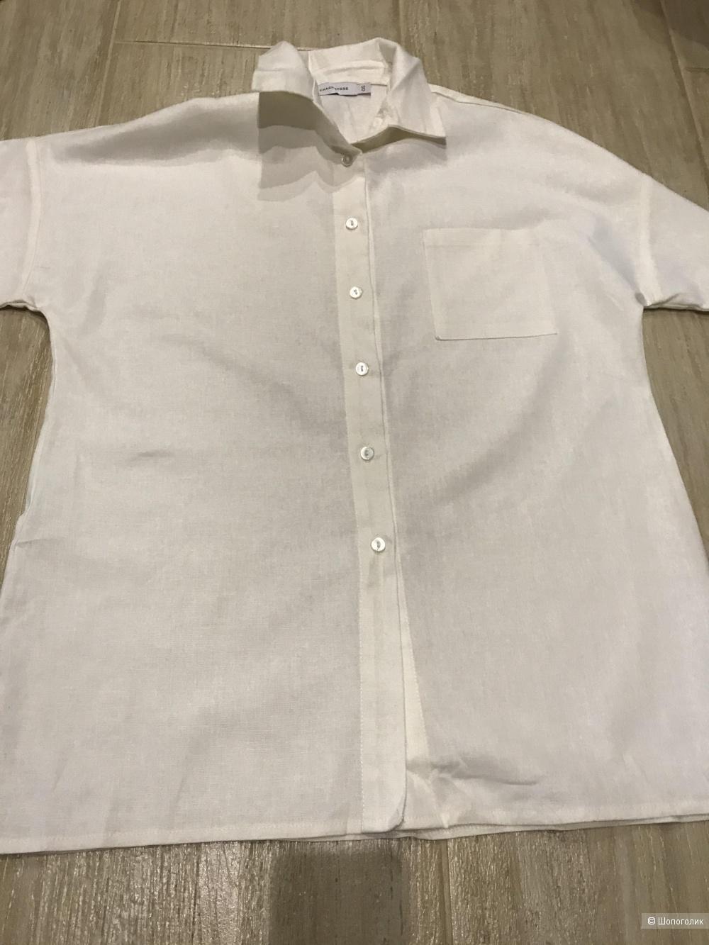 Льняная рубашка Charmstore Club, размер OS