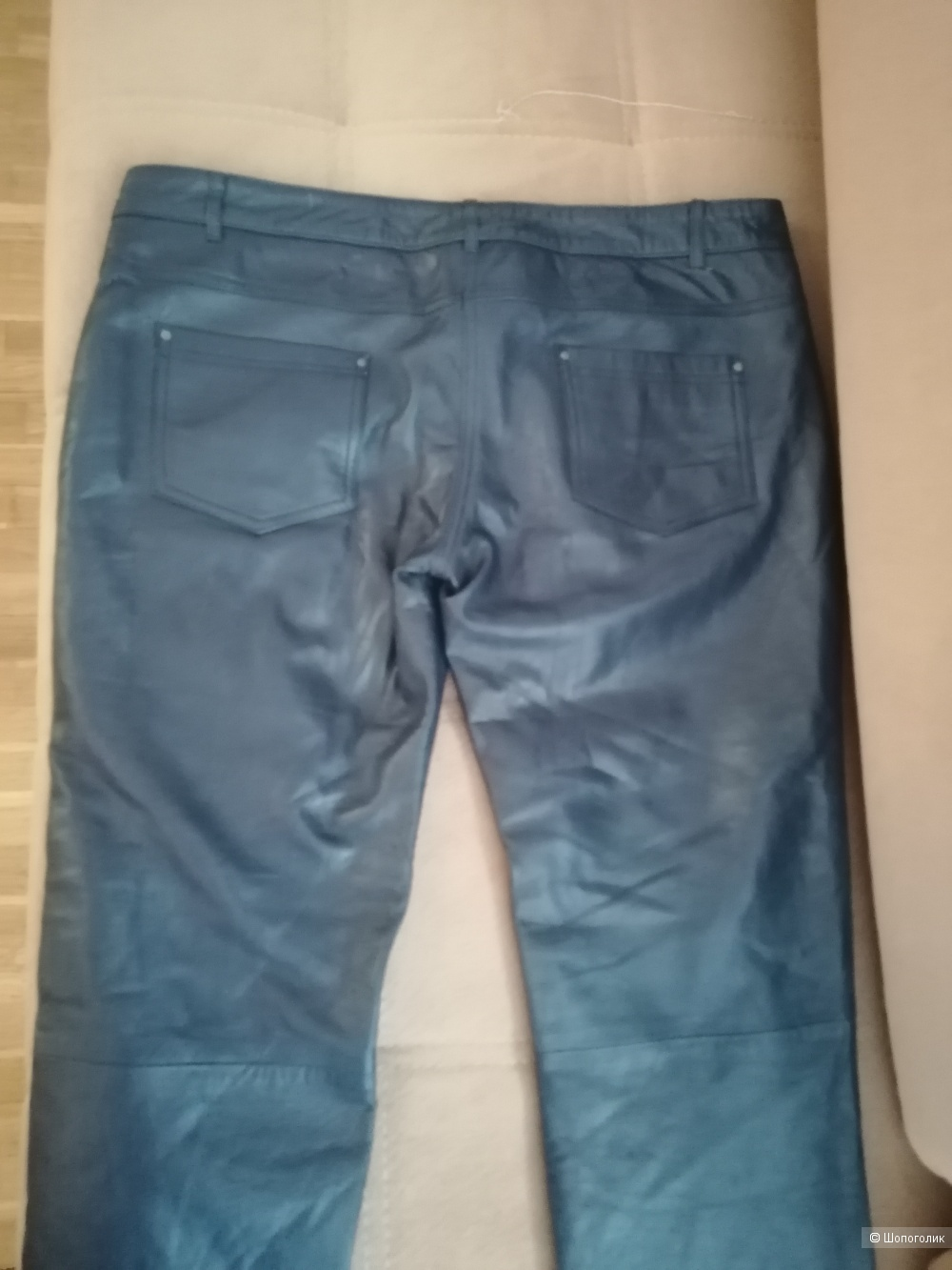 Кожаные брюки Shine Blossom 48-50 размера