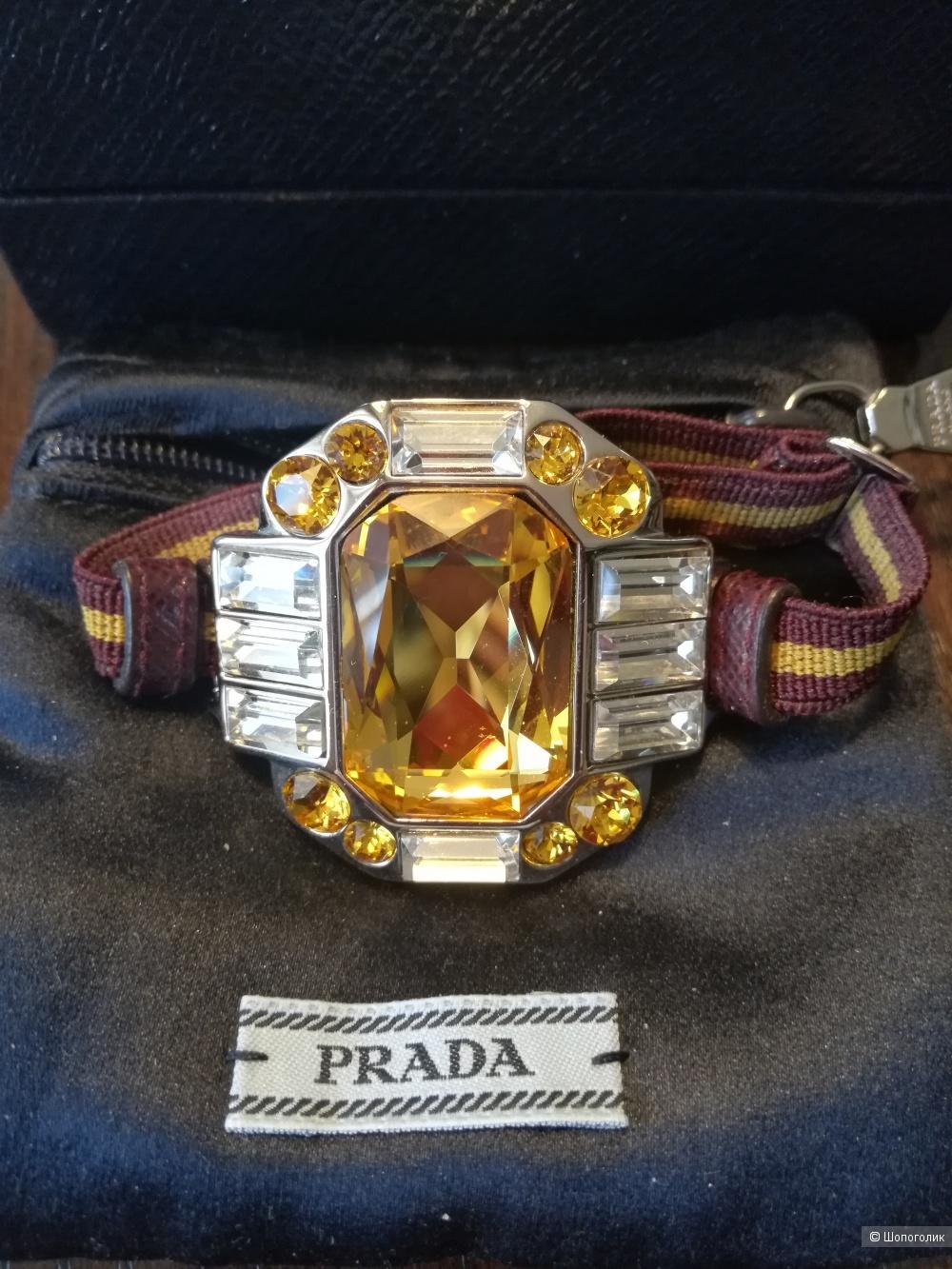 Браслет Prada