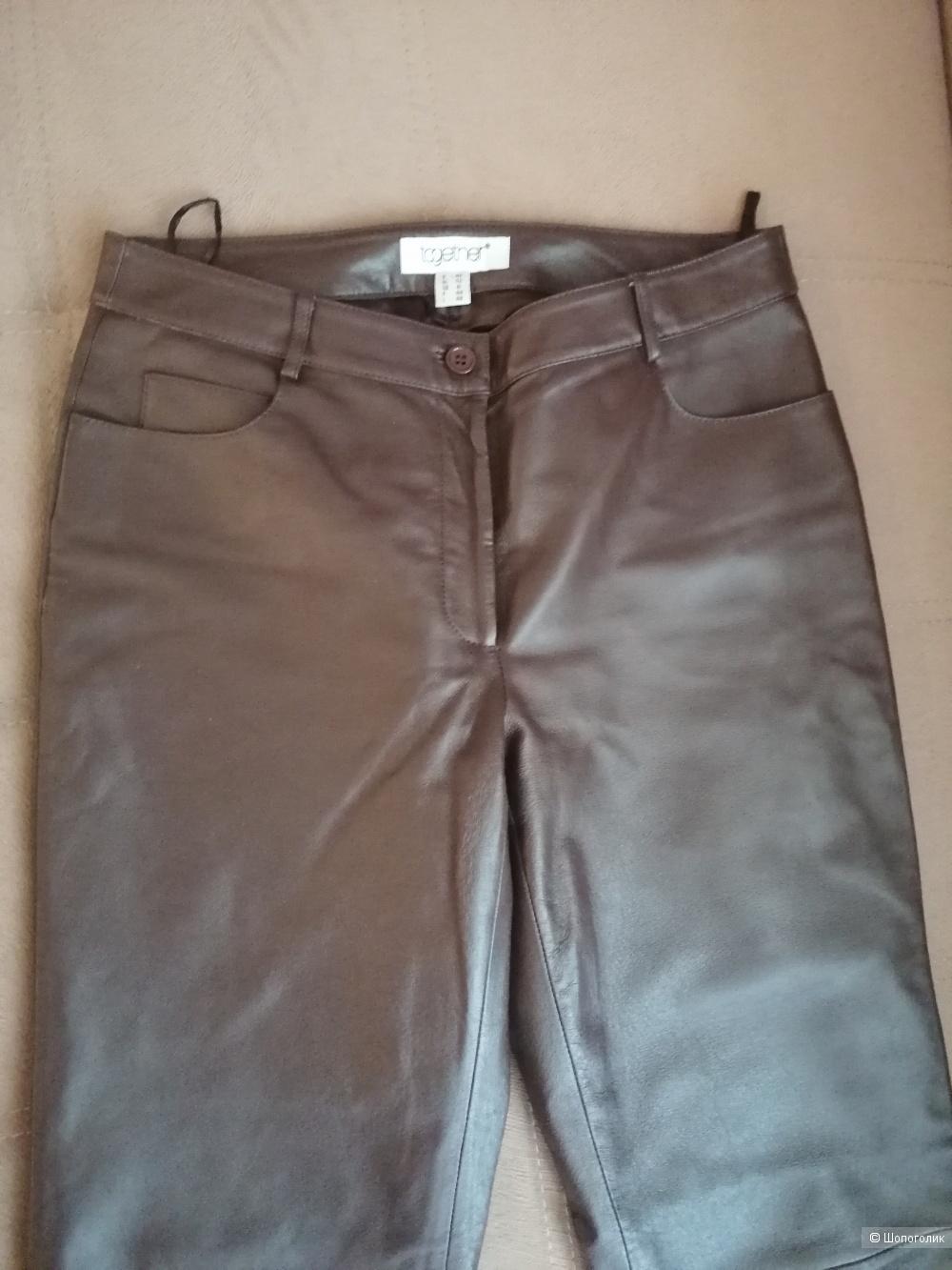 Кожаные брюки Together 42 европейского размера