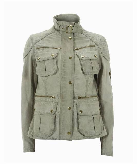 Кожаная куртка Barbour Steve McQueen, размер UK 14 (рос. 46)