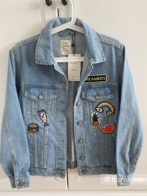 Джинсовый пиджак Bershka размер S
