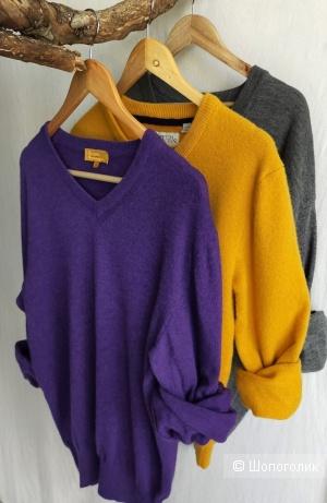 Фиалковый пуловер theo, размер XS, S, M, L