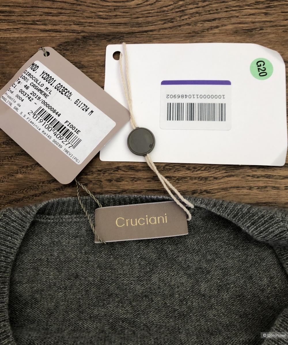 Кашемировый свитер CRUCIANI размер 44- 46