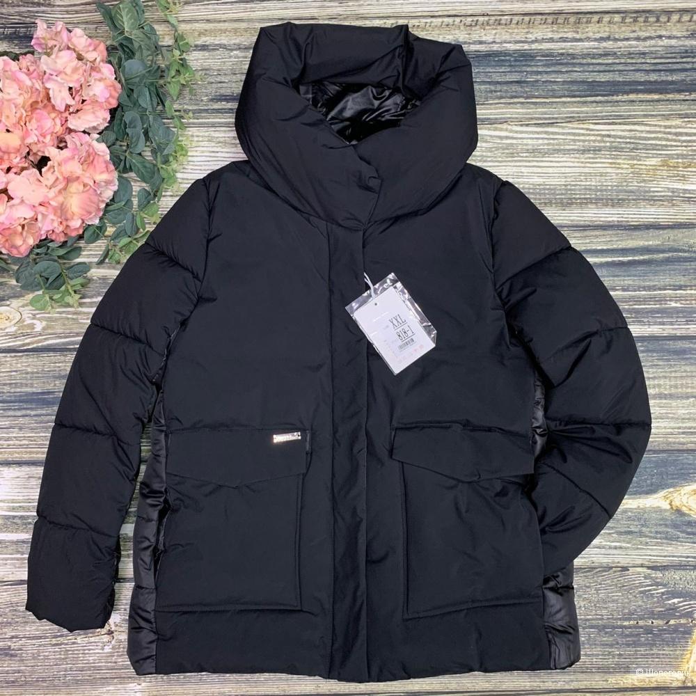 Куртка объемный воротник, MATTE, 42-48