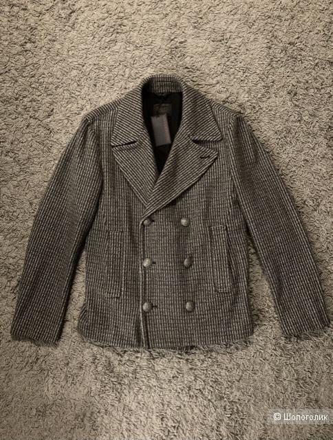 Пальто Trussardi Jeans 1987, размер 48