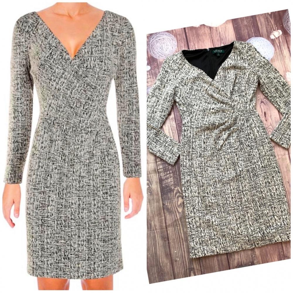 Твидовое платье от Ralph Lauren S
