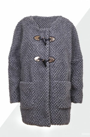 Шерстяное пальто IT TIERRE, размер S