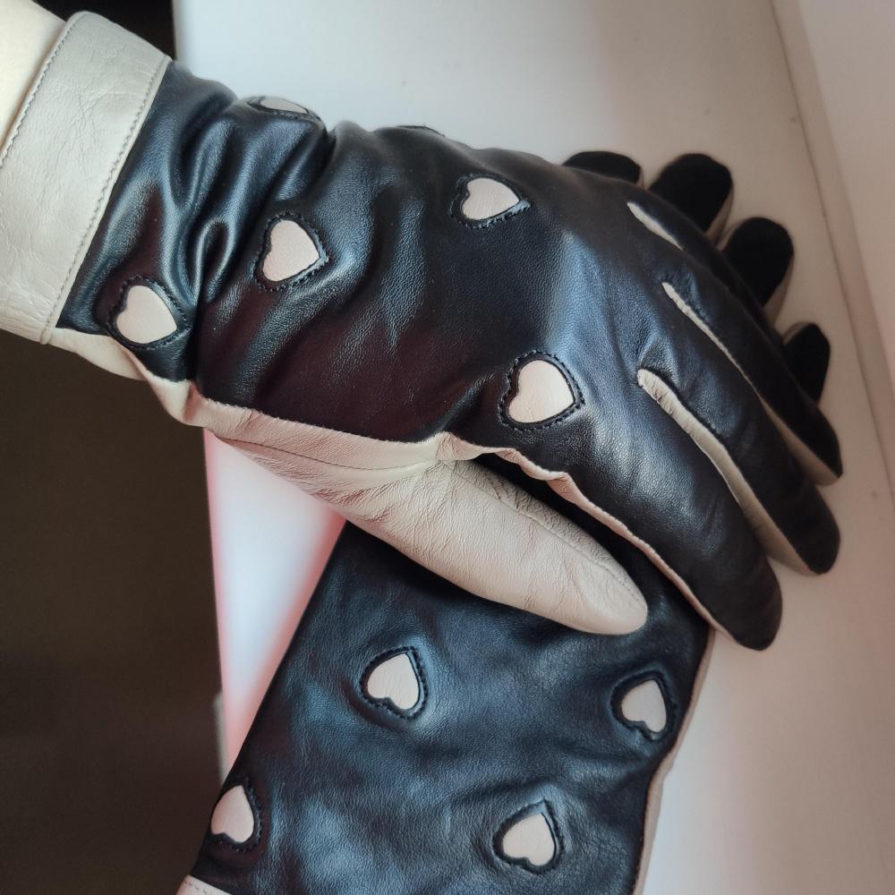 Перчатки кожанные Tervolina размер 7.5