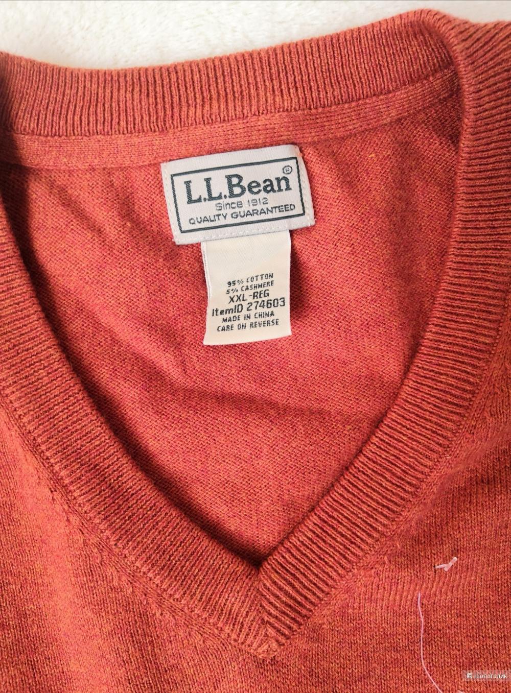 Джемпер L. L. Bean, размер 54-56