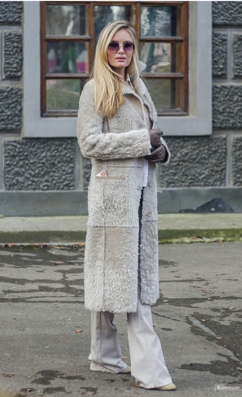 Дубленка, р. S, 42-44 рус