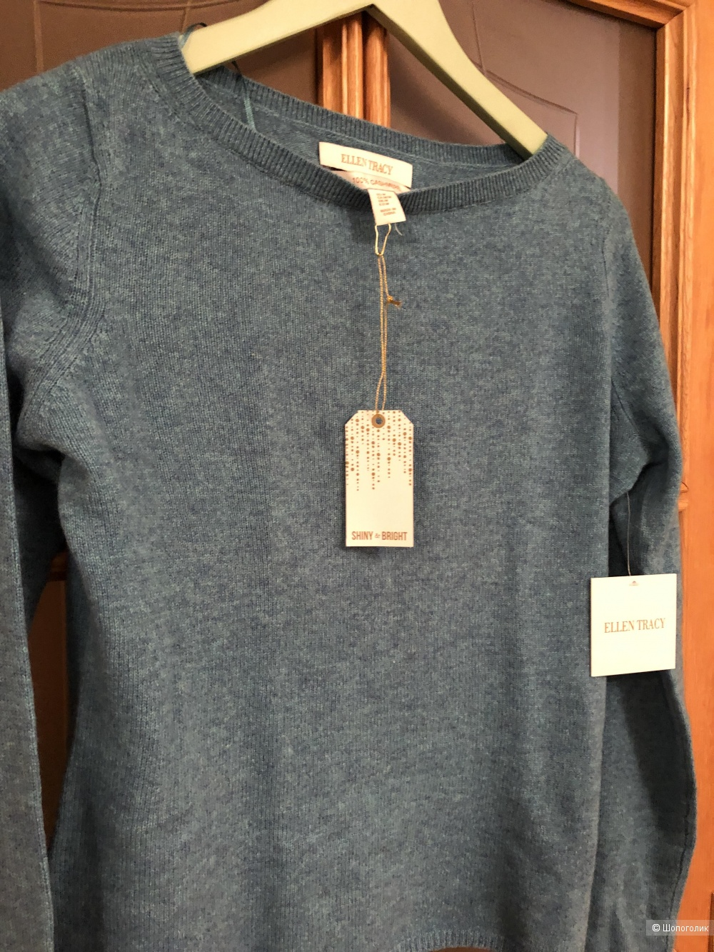 Кашемировый свитер Ellen Tracy размер S-M