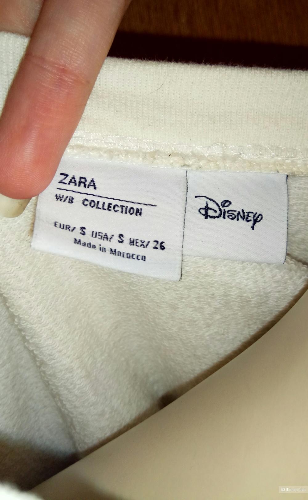 Свитшот Zara 42/44 размер