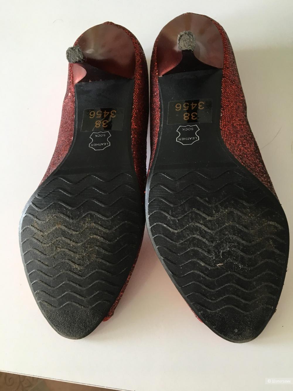 Туфли Le Monti, размер 37,5 рос.