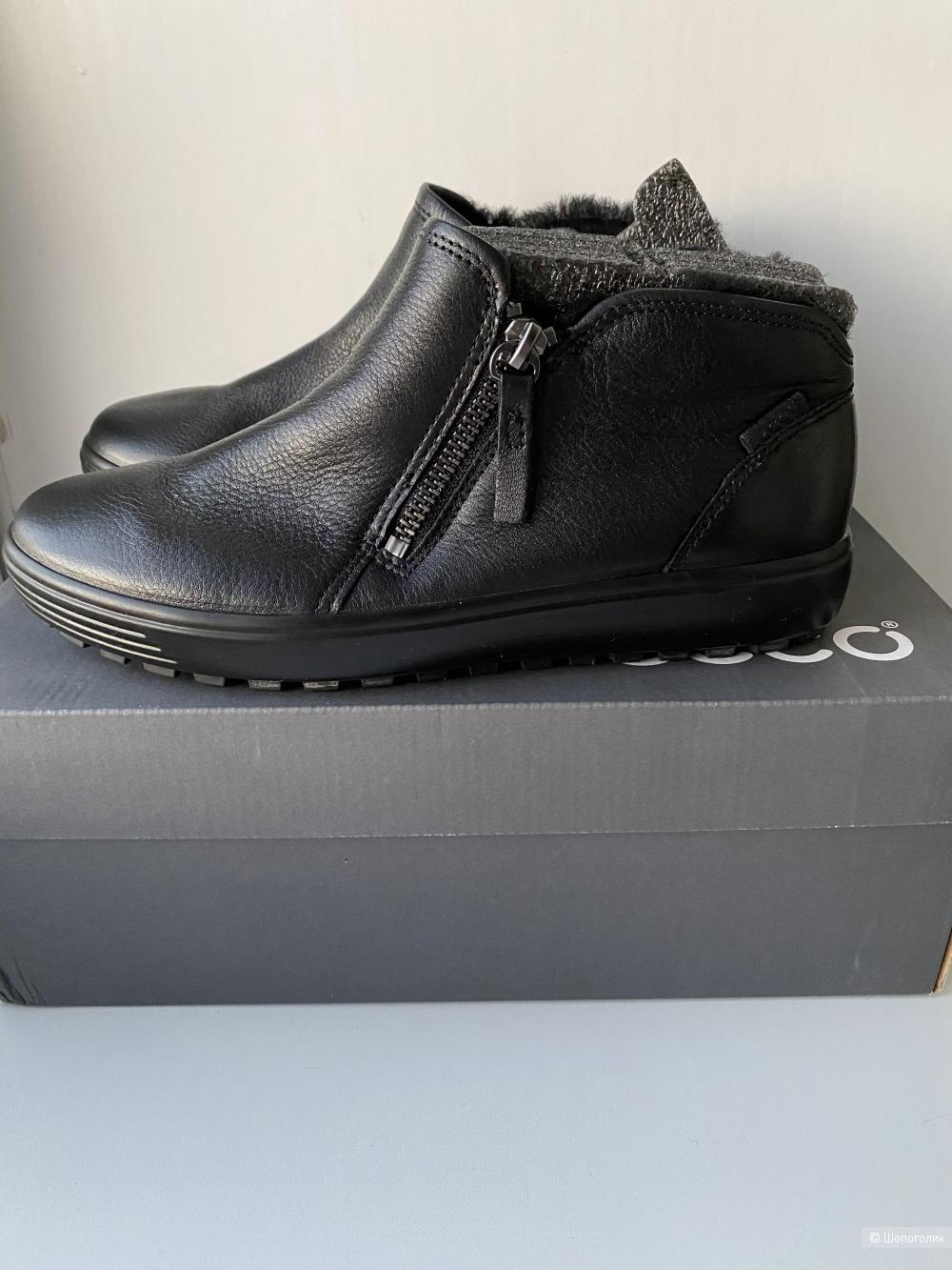 Новые зимние ботинки ECCO 37 размер