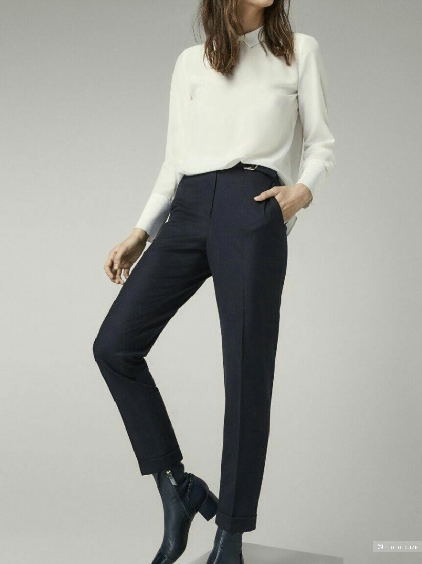 Шерстяные брюки massimo dutti, 36