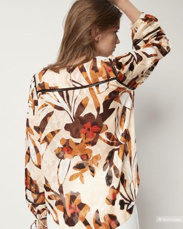 Блуза MASSIMO DUTTI, размер EU 34.