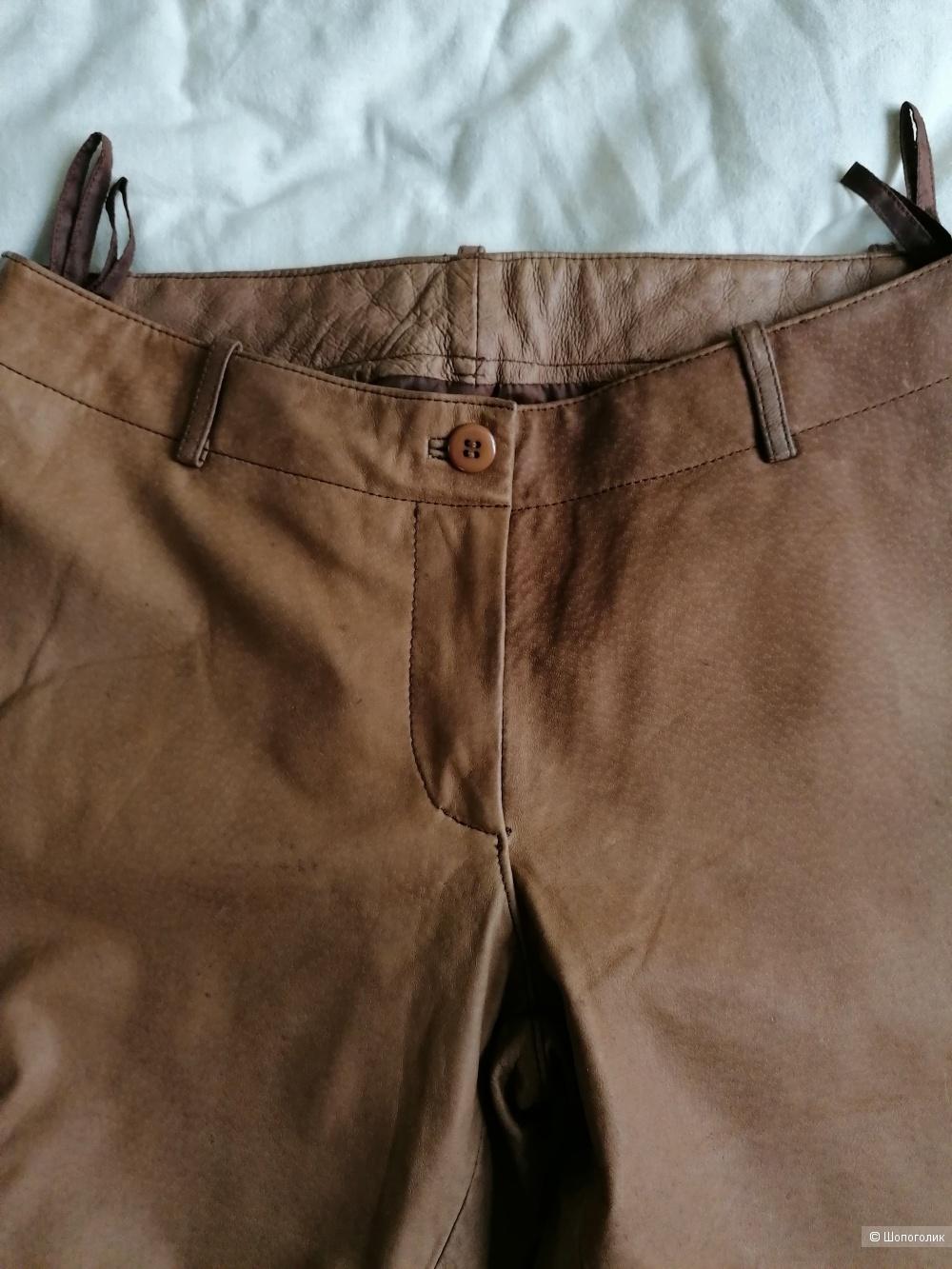 Кожаные брюки JCC размер 36