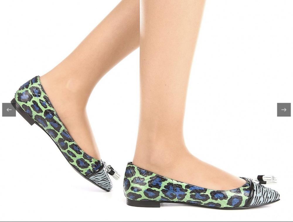 Кожаные туфли Kenzo, 37,5 размер