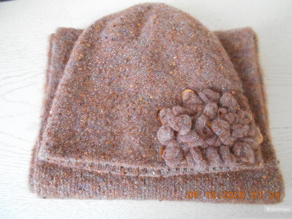 Комплект:шапка и шарф Vizio,S