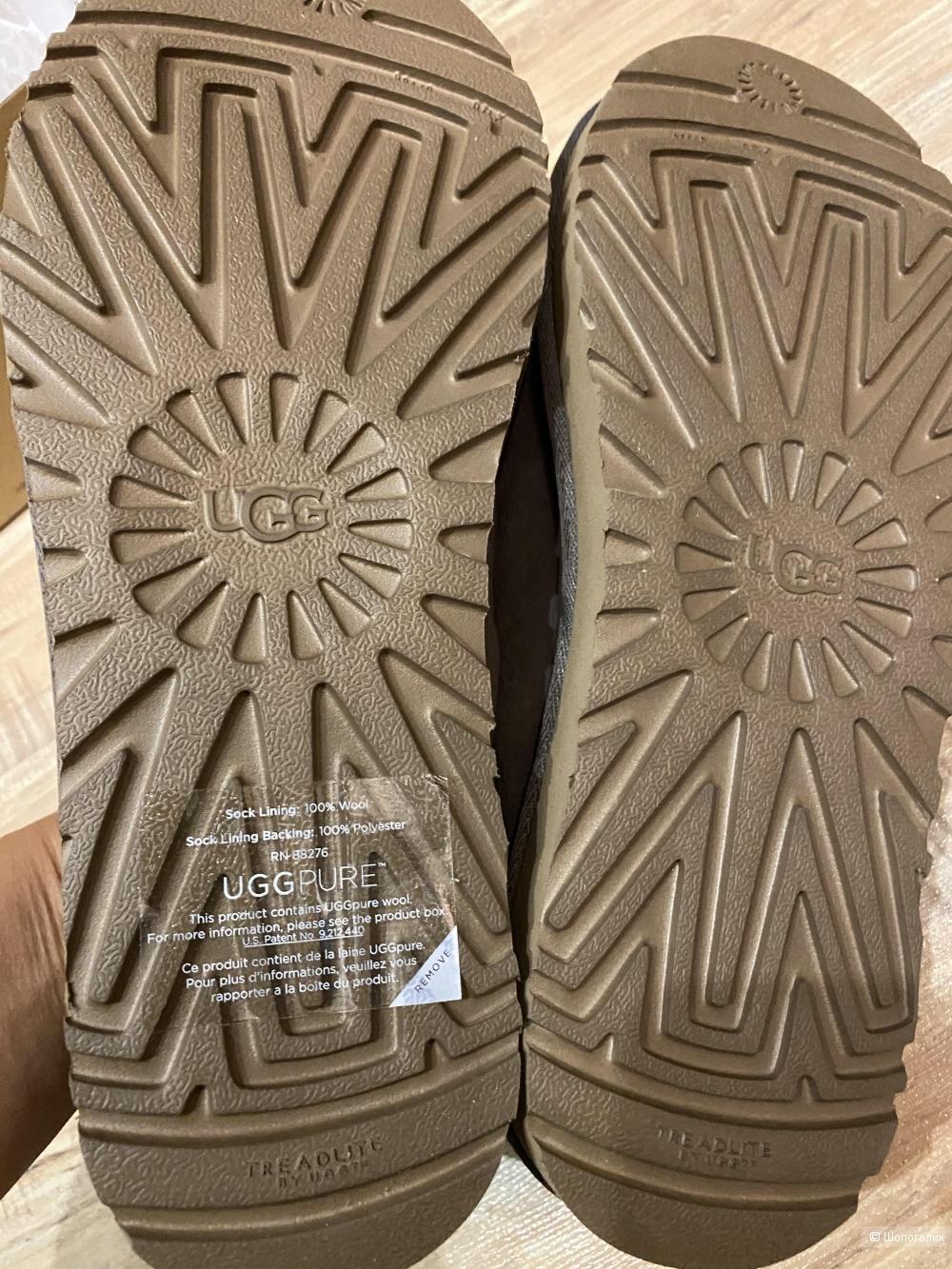 Слипоны-тапочки UGG AUSTRALIA. Размер 40. 26,5 см
