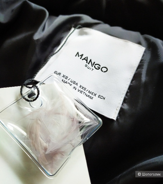 Пуховик Mango размер XS/S