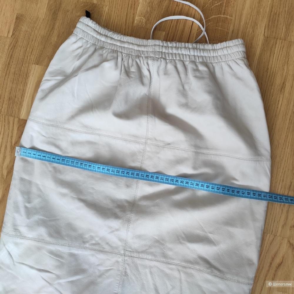Юбка Pepe Jeans из натуральной кожи, М