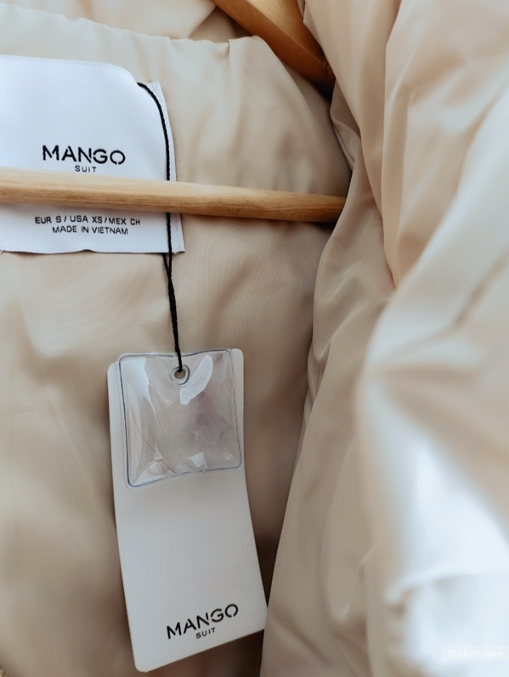 Пуховик Mango размер S/M