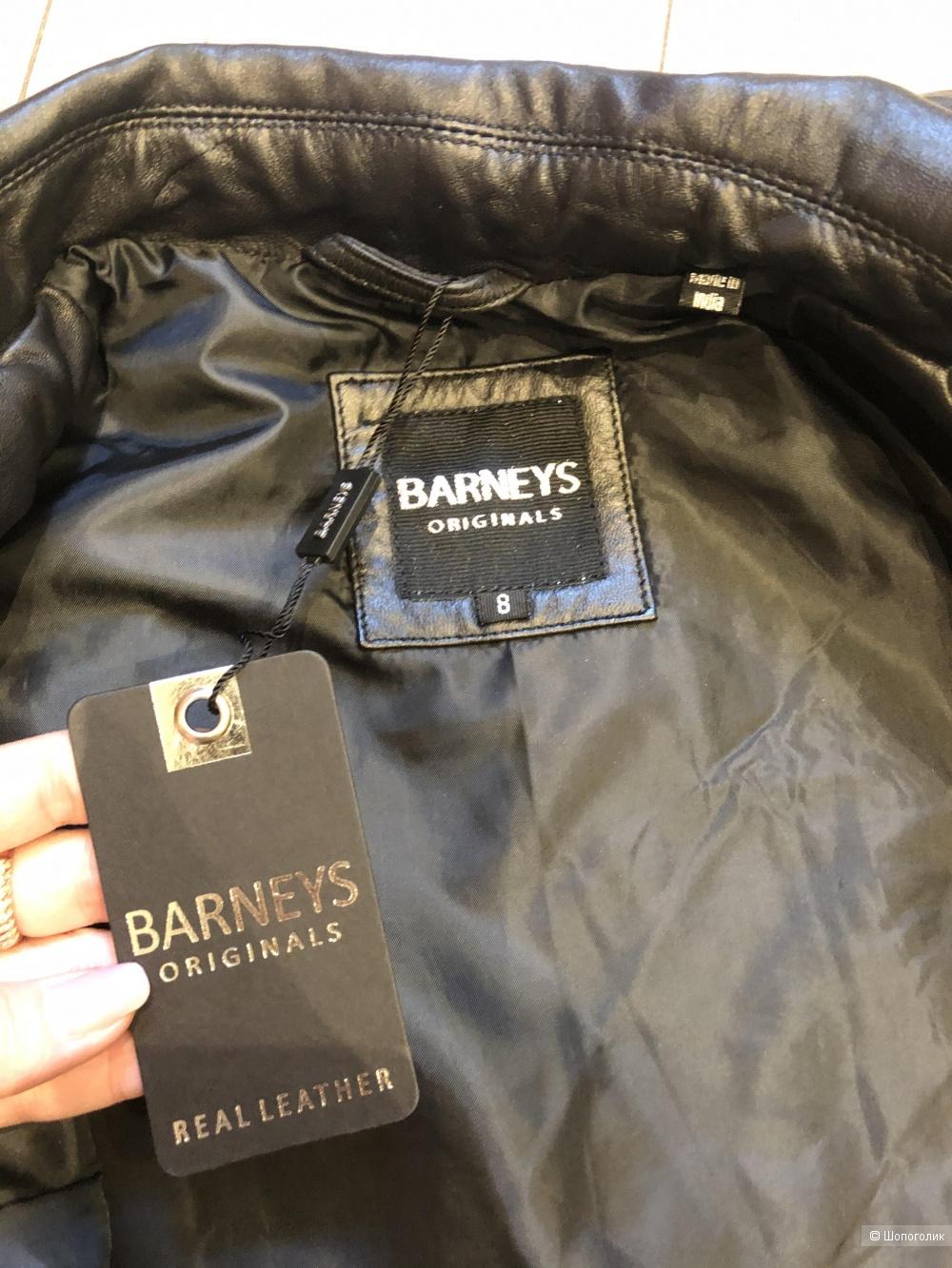 Кожаная куртка- косуха Barney's Original's  36EU(UK8)