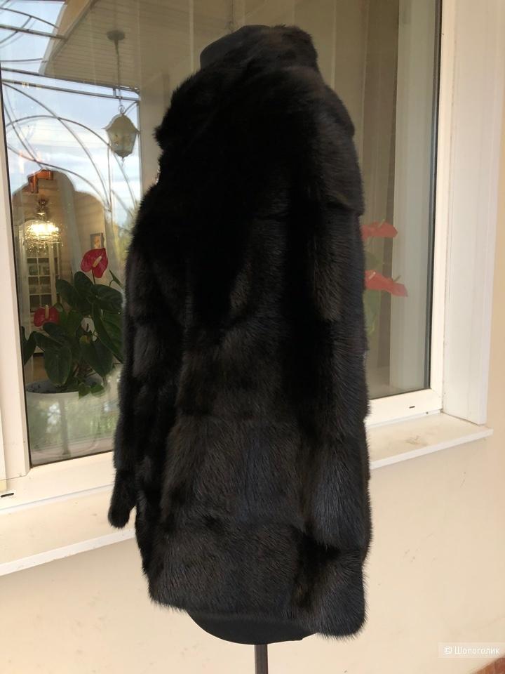 Норковая шуба, размер 42-44-46