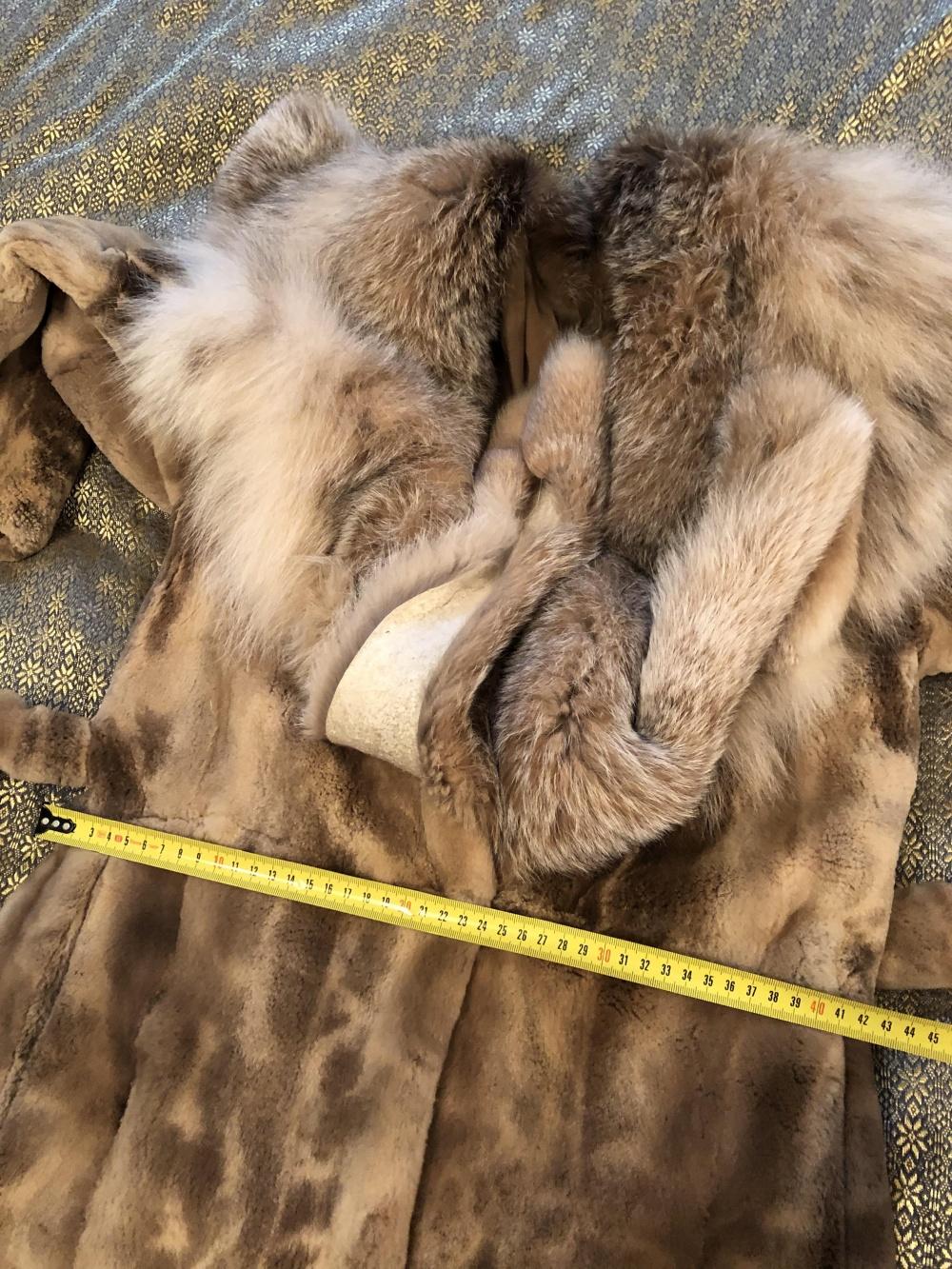 Шуба avanti furs норка рысь 42-44