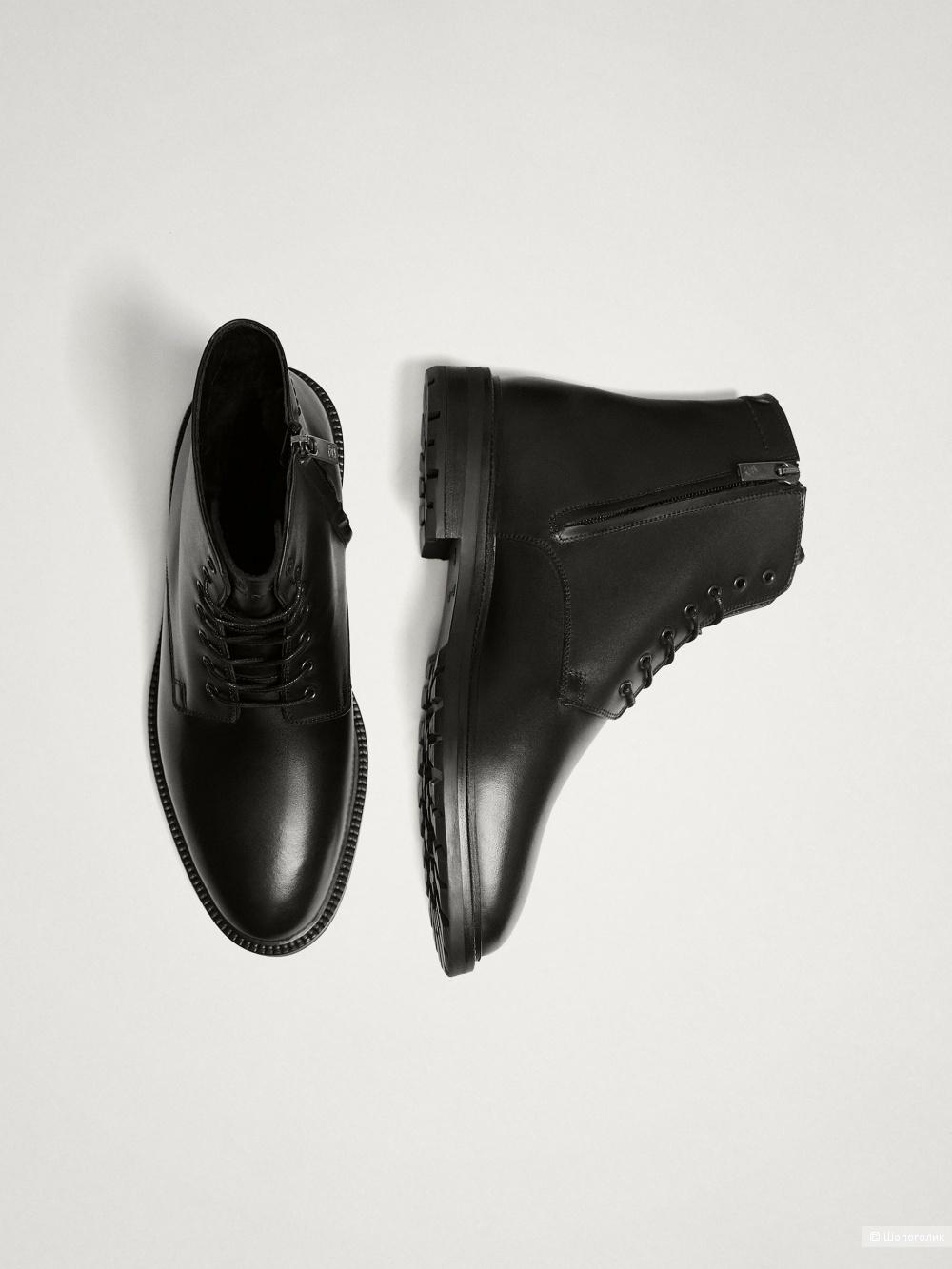 Мужские ботинки Massimo Dutti, на 40 - 40,5
