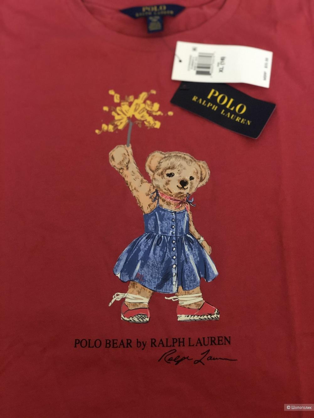 Футболка для девочки polo Ralph Lauren, р.xl(16)